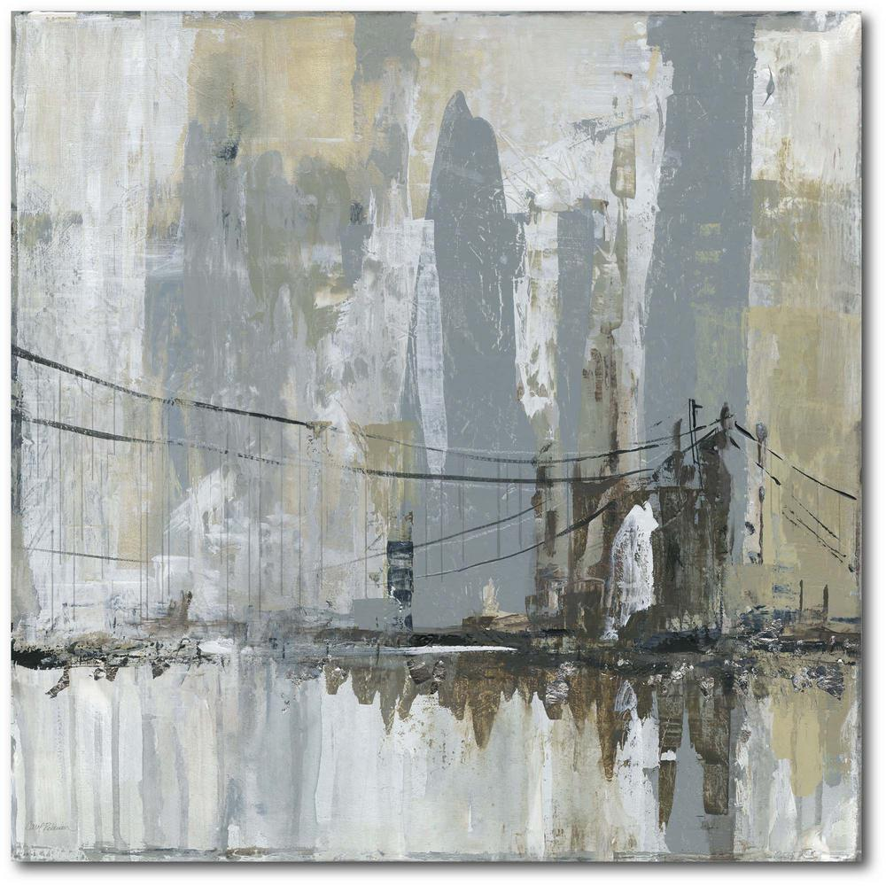 Courtside Market Midtown Bridge Ii Gallery-Wrapped Canvas Wall Art 24 in. x 24 in., Multi Color was $115.0 now $64.03 (44.0% off)