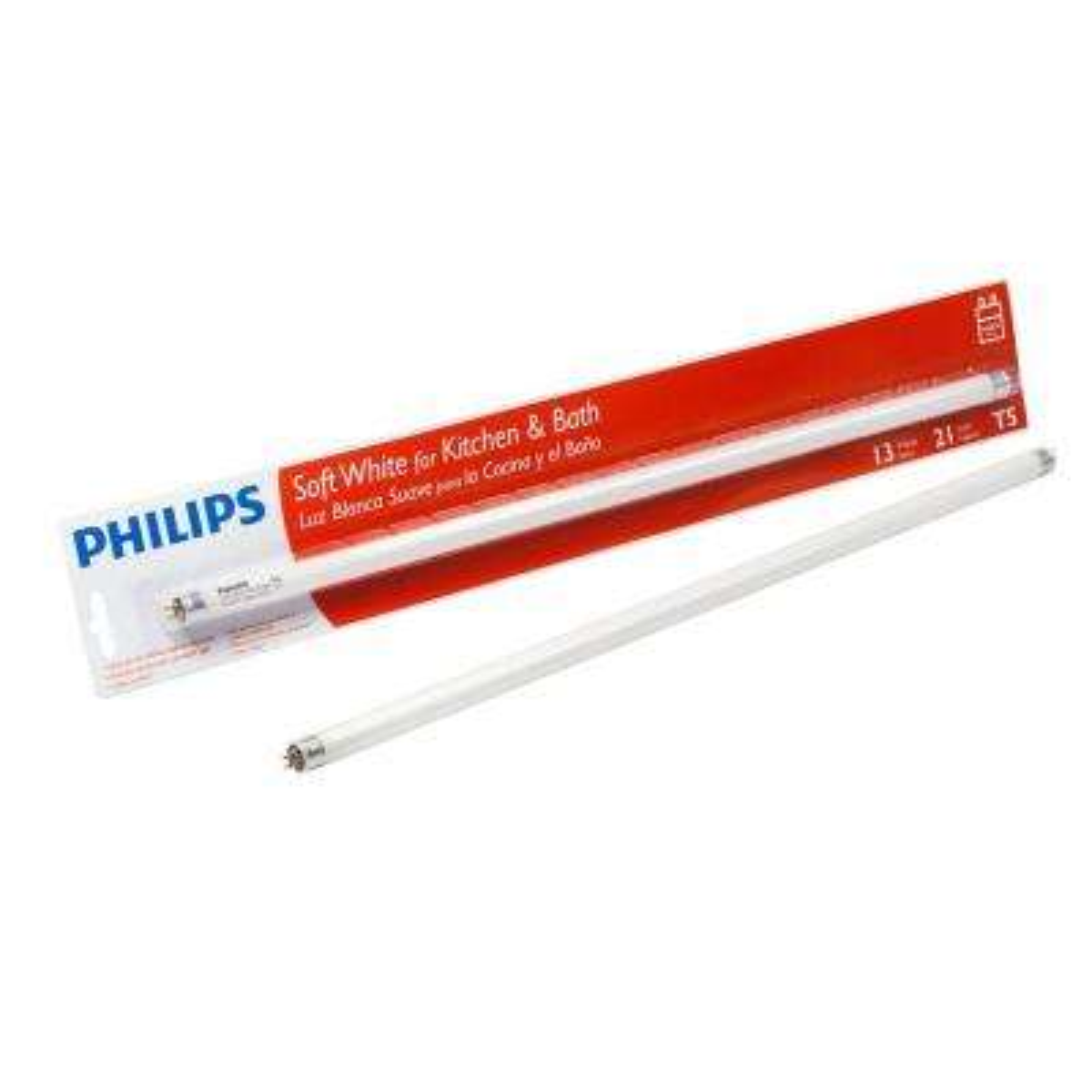 13-Watt 21 in. Linear T5 Fluorescent Light Bulb Soft White (3000K)
