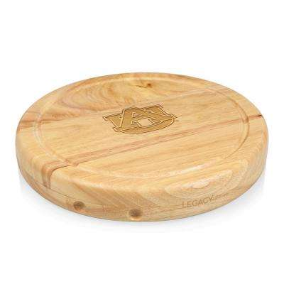 Auburn Tigers Circo Wood Cheese Board Set with Tools