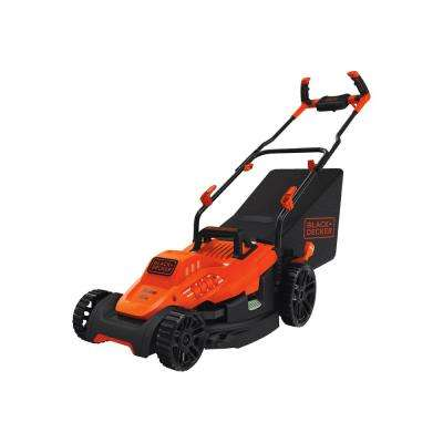 15 in. 10 Amp Corded Electric Walk Behind Push Mower