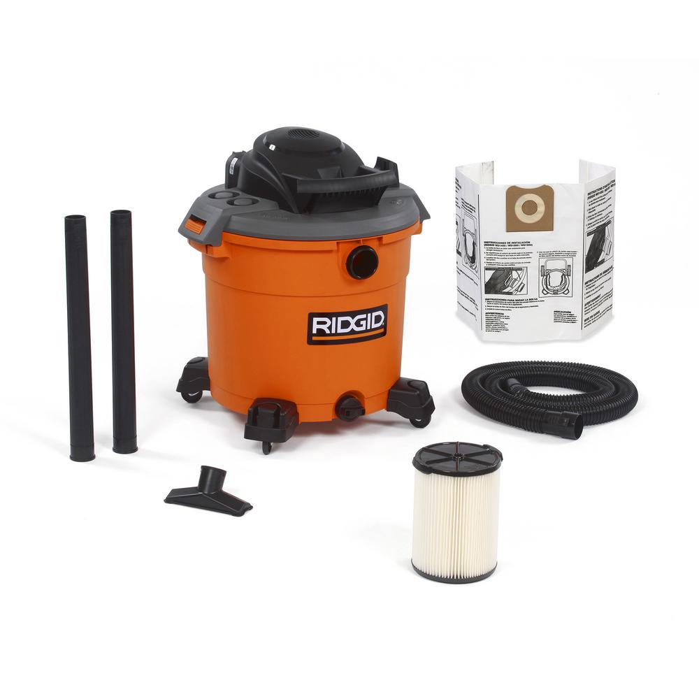 RIDGID 16 Gal. 5.0-Peak HP Wet/Dry Vac