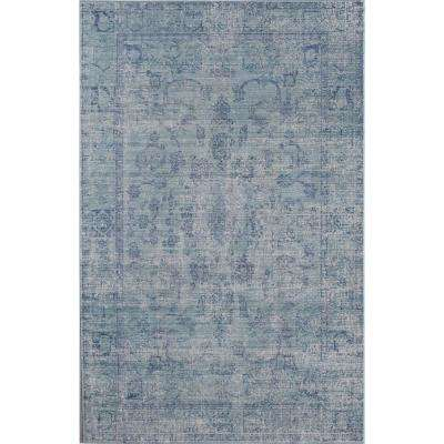 Ambrosia Presence Blue 2 ft. 0 in. x 3 ft. 0 in. Rectangular Accent Rug