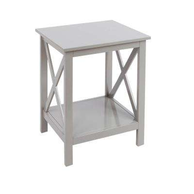 Braxton Gray End Table