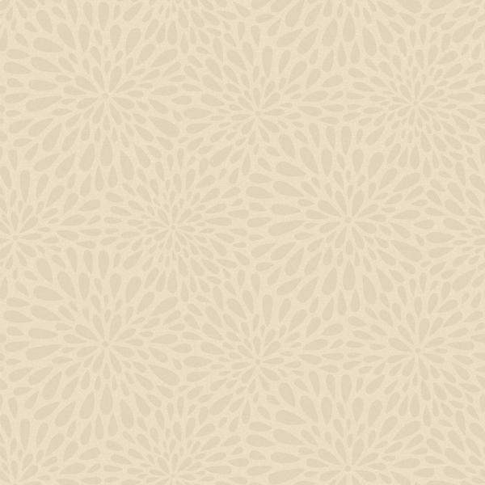 Calendula Grey Modern Floral Wallpaper