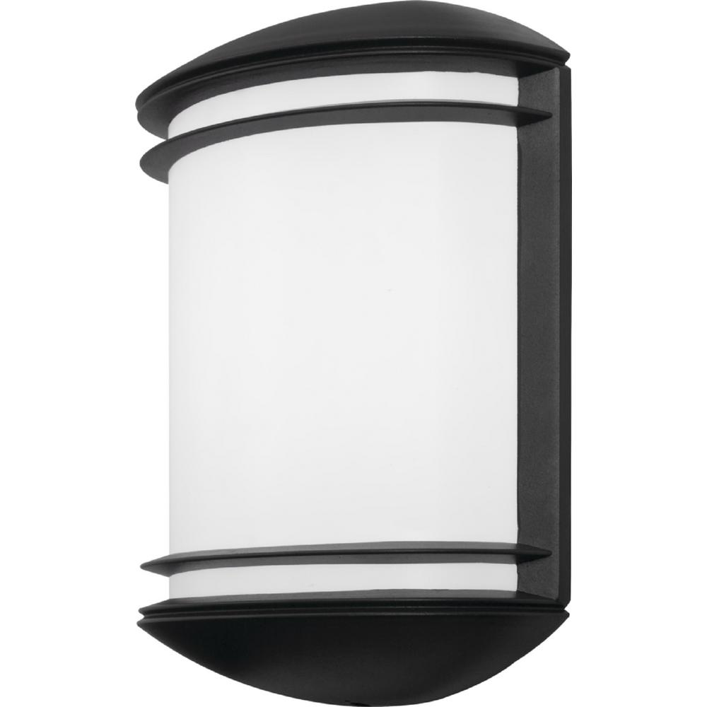 Lithonia Lighting OLCS Bronze Outdoor Integrated LED Wall Lantern Sconce