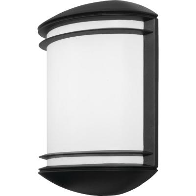 OLCS Bronze Outdoor Integrated LED Wall Lantern Sconce