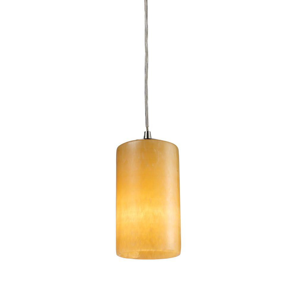 Coletta 1-Light Satin Nickel Ceiling Pendant
