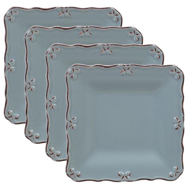 Certified International Vintage Blue Canape Plate (Set of 4) 22362SET6