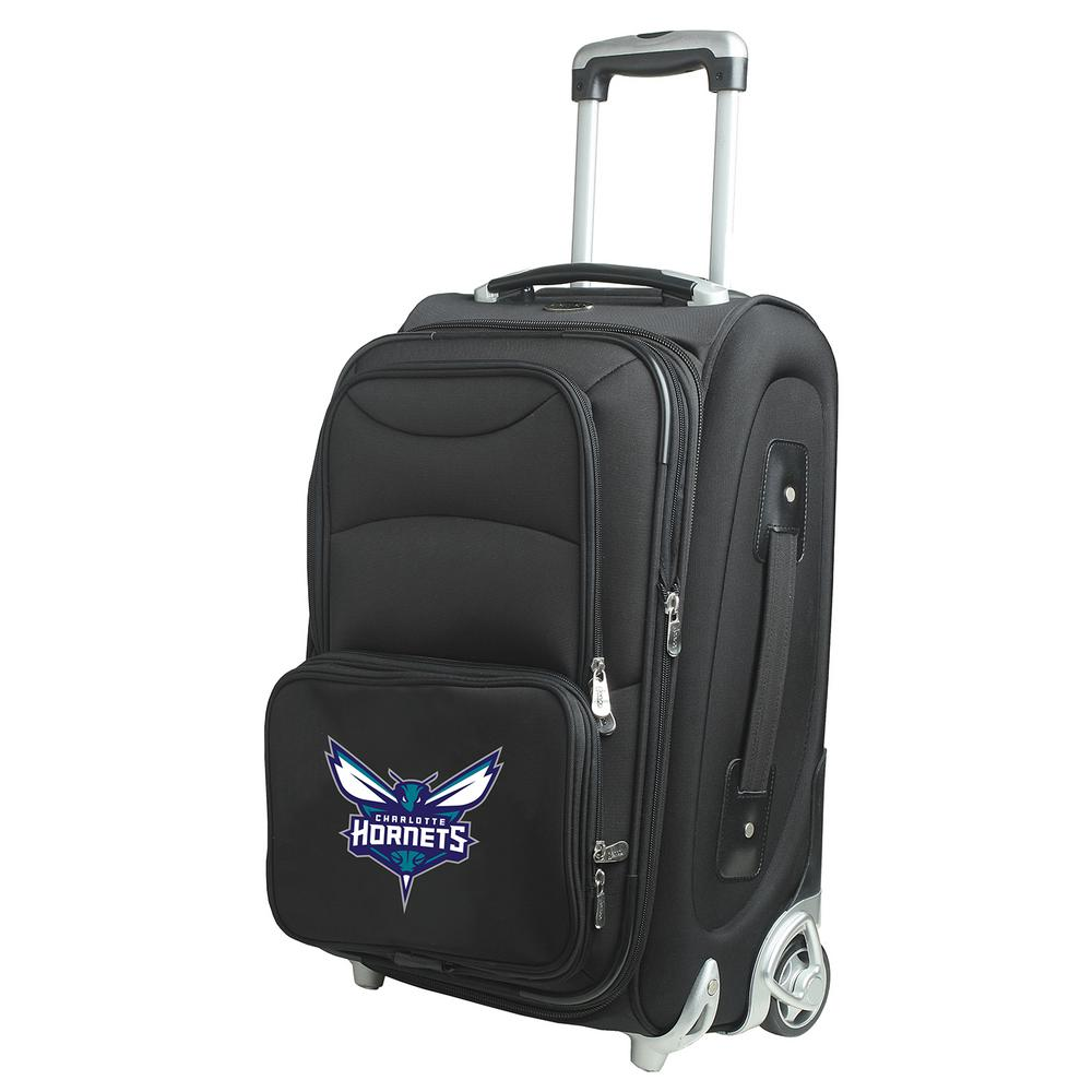 Denco NBA Charlotte Hornets 21-inch Carry-On Luggage