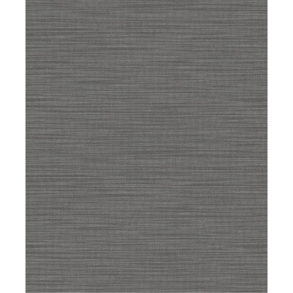 57.8 sq. ft. Ashleigh Taupe Linen Texture Wallpaper