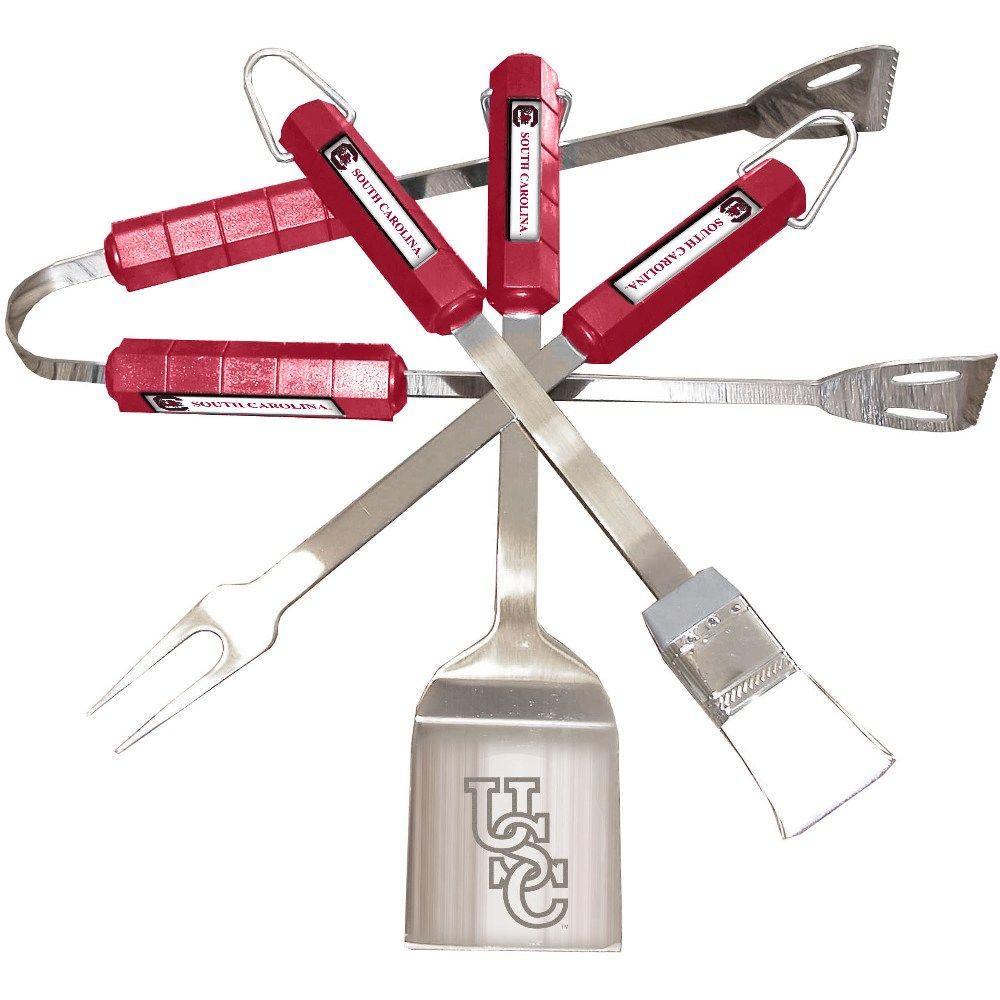 NCAA South Carolina Gamecocks 4-Piece Grill Tool Set