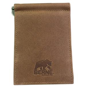 f716003638a3 Berne Buff Zulu Leather/Berne Logo Emboss on FRT/Tone Stitched Edges/Silver  Currency Clip/Berne CB Box-7504003210 - The Home Depot
