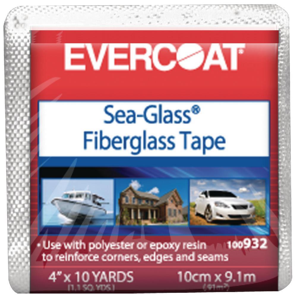 Evercoat 6 Oz 4 In X 10 Yds Fiberglass Cloth Woven Tape