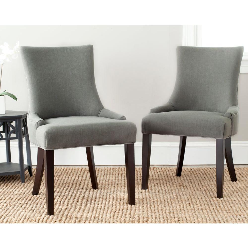 Safavieh Lester Granite Linen Dining Chair Set Of 2
