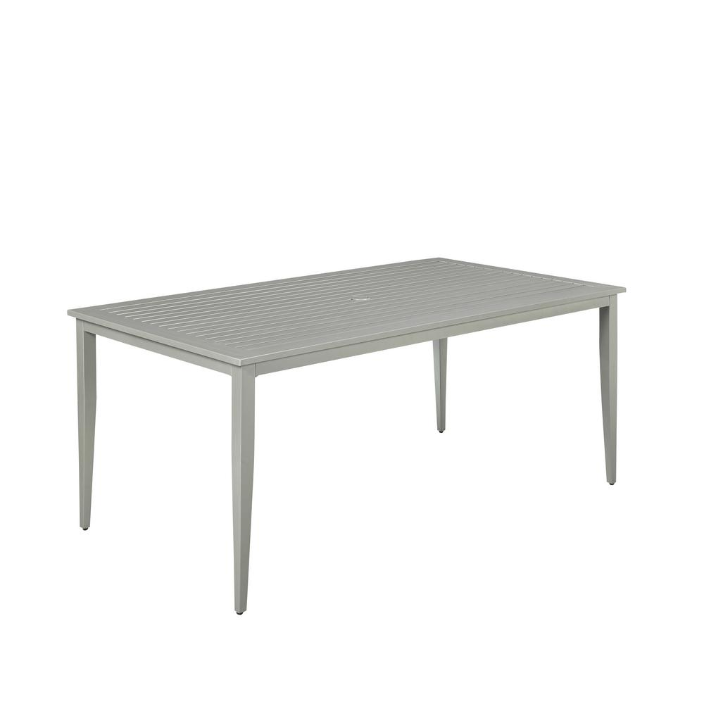 South Beach Extruded Aluminum Rectangular Outdoor Dining Table