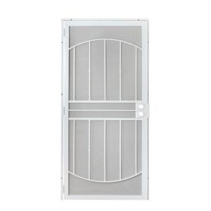 Grisham 36 In X 80 In 805 Series White Defender Security
