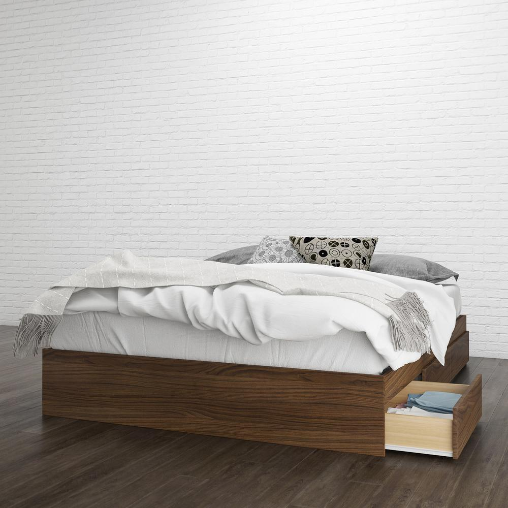 Alibi Queen Size Storage Bed