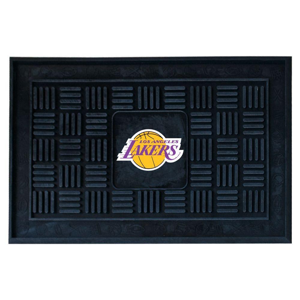 Los Angeles Lakers 18 in. x 30 in. Door Mat