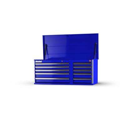 Tech Series 42 in. 10-Drawer Top Chest, Blue
