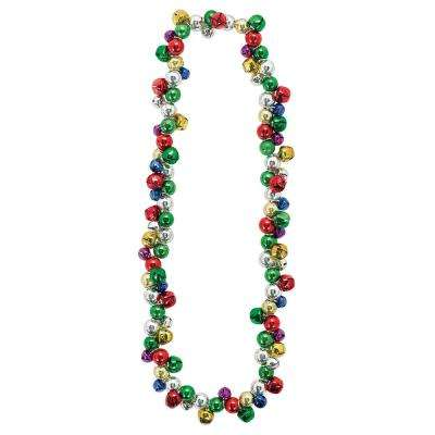 22 in. Jingle Bell Christmas Necklace (2-Pack)
