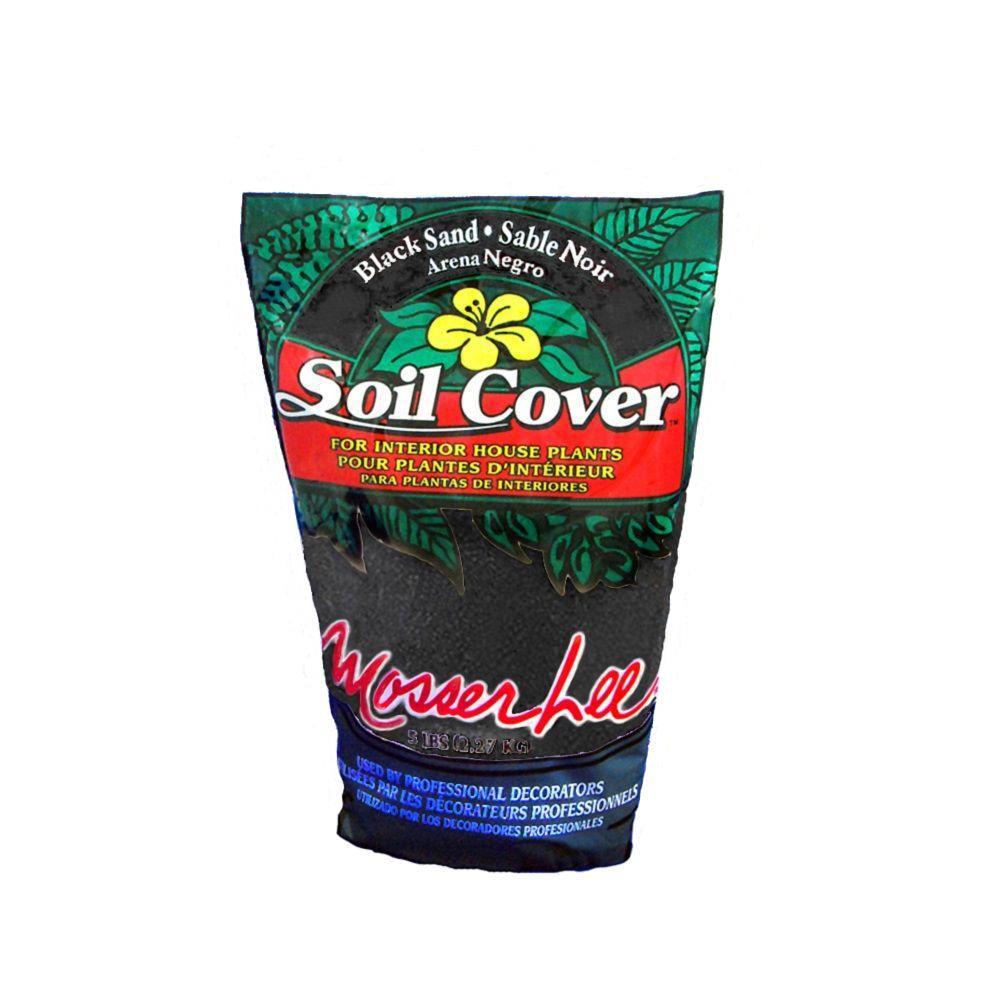 5 lb. Black Sand Soil Cover