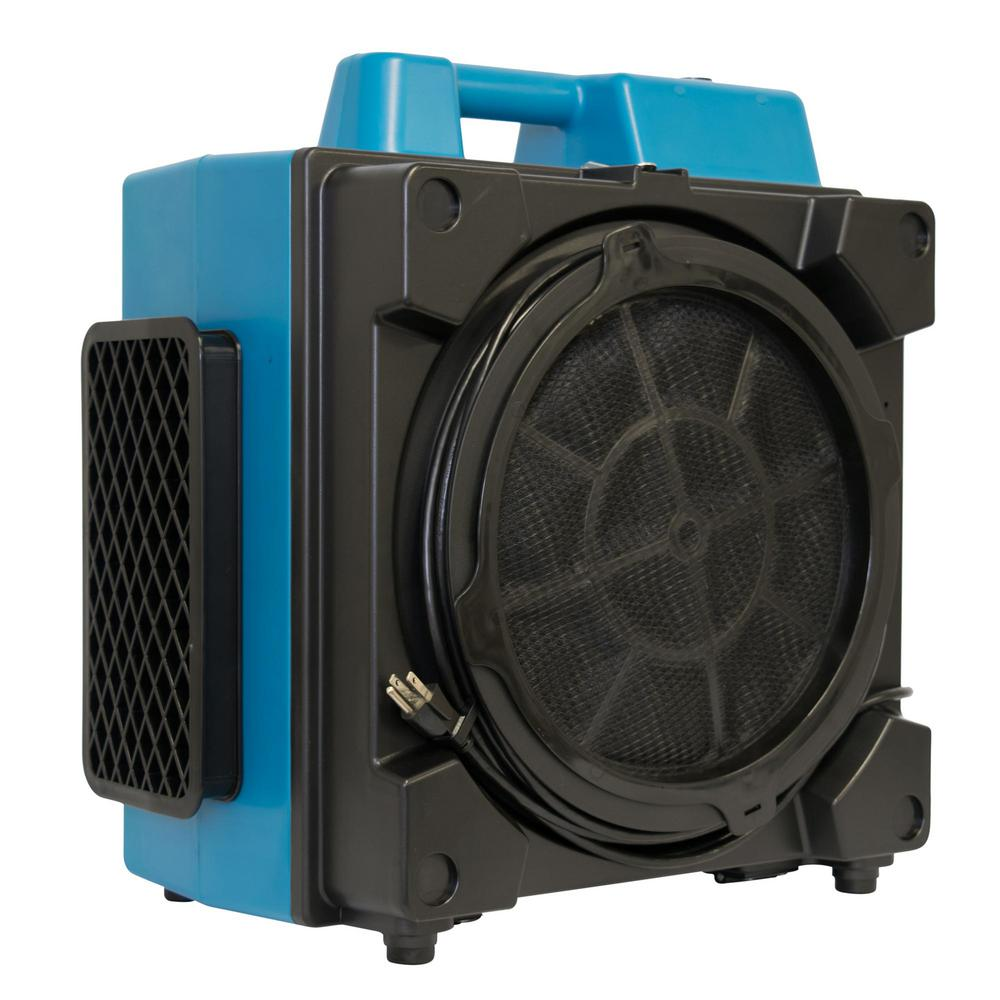 XPOWER Pro Clean 550 CFM Eco Filter 4 Stage Filtration Purifier System Air Scrubber