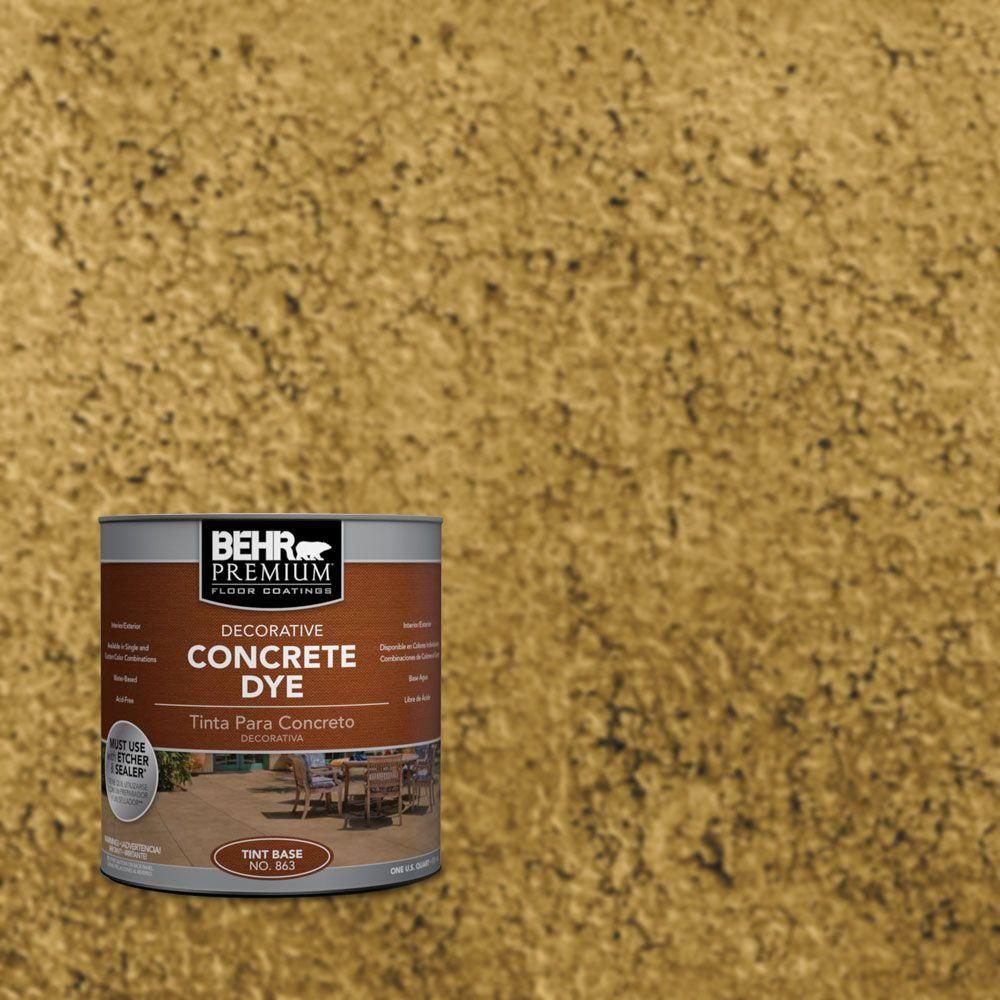 BEHR Premium 1 qt. #CD-815 Desert Mocassin Concrete Dye