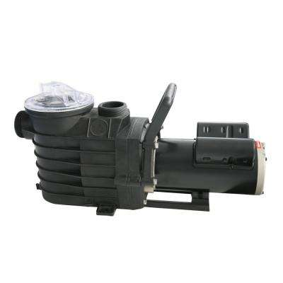 48S 1 HP Single Speed In Ground Pool Pump with Copper Windings, 6,340 GPH, 72 ft. Max Head