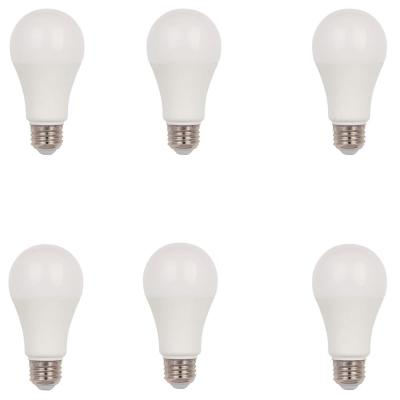 100W Equivalent Cool White Omni A19 Dimmable LED Light Bulb (6-Pack)