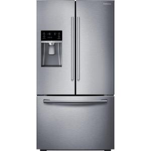 Click here to buy Samsung 22.5 cu. ft. French Door Refrigerator in Stainless Steel, Counter Depth by Samsung.