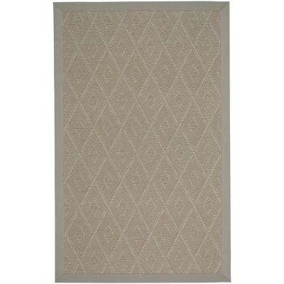 Llano-Silver Mist Buff 5 ft. x 8 ft. Indoor/Outdoor Area Rug