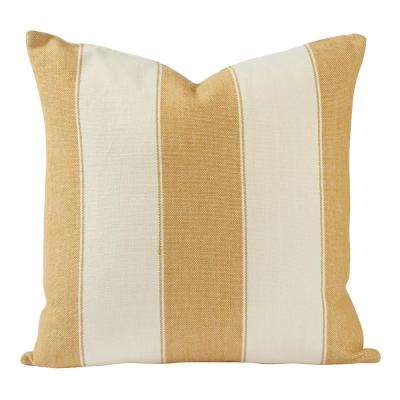 Classic Stripes Throw Pillow