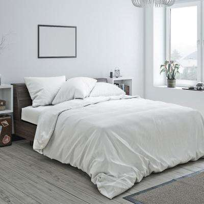 Heritage Cotton Duvet White Queen