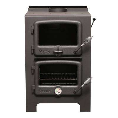 750 sq. ft. to 1,000 sq. ft Wood Burning Stove with Cook Top and Oven