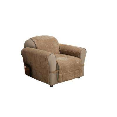 Ultimate Faux Suede Chair Protector  sc 1 st  The Home Depot & Slip Covers - Furniture Accessories u0026 Replacement Parts ... islam-shia.org
