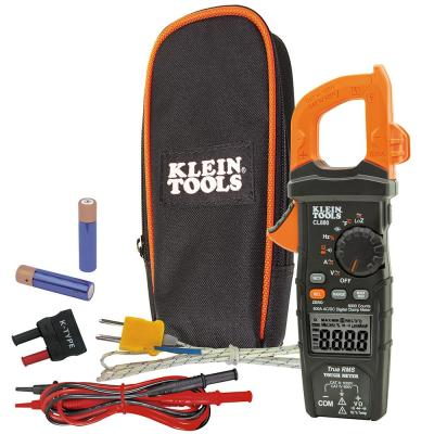 600 Amp AC/DC True RMS Auto-Ranging Digital Clamp Meter