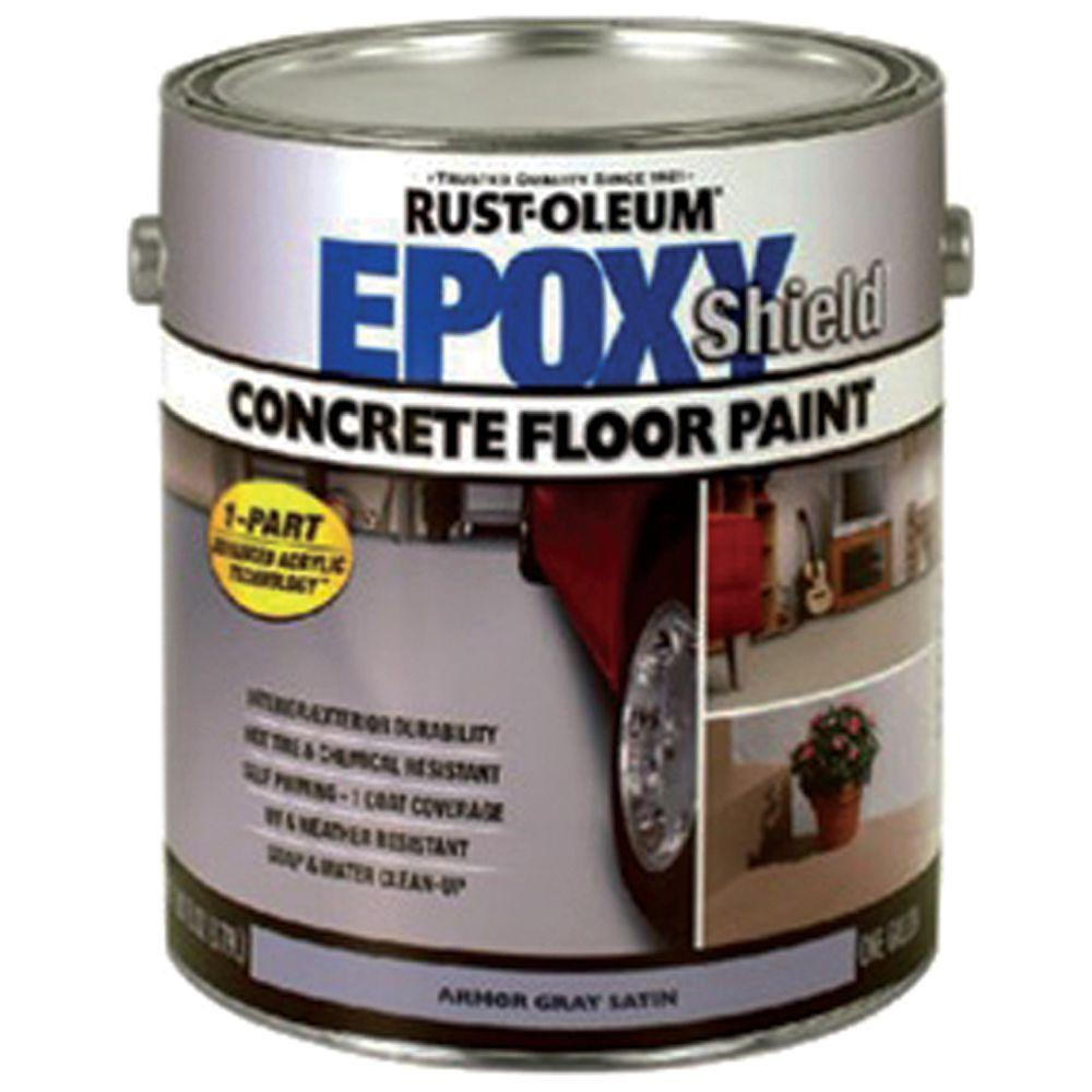 Home Depot Rust-Oleum Epoxy Shield 1-gal. Basement Tan