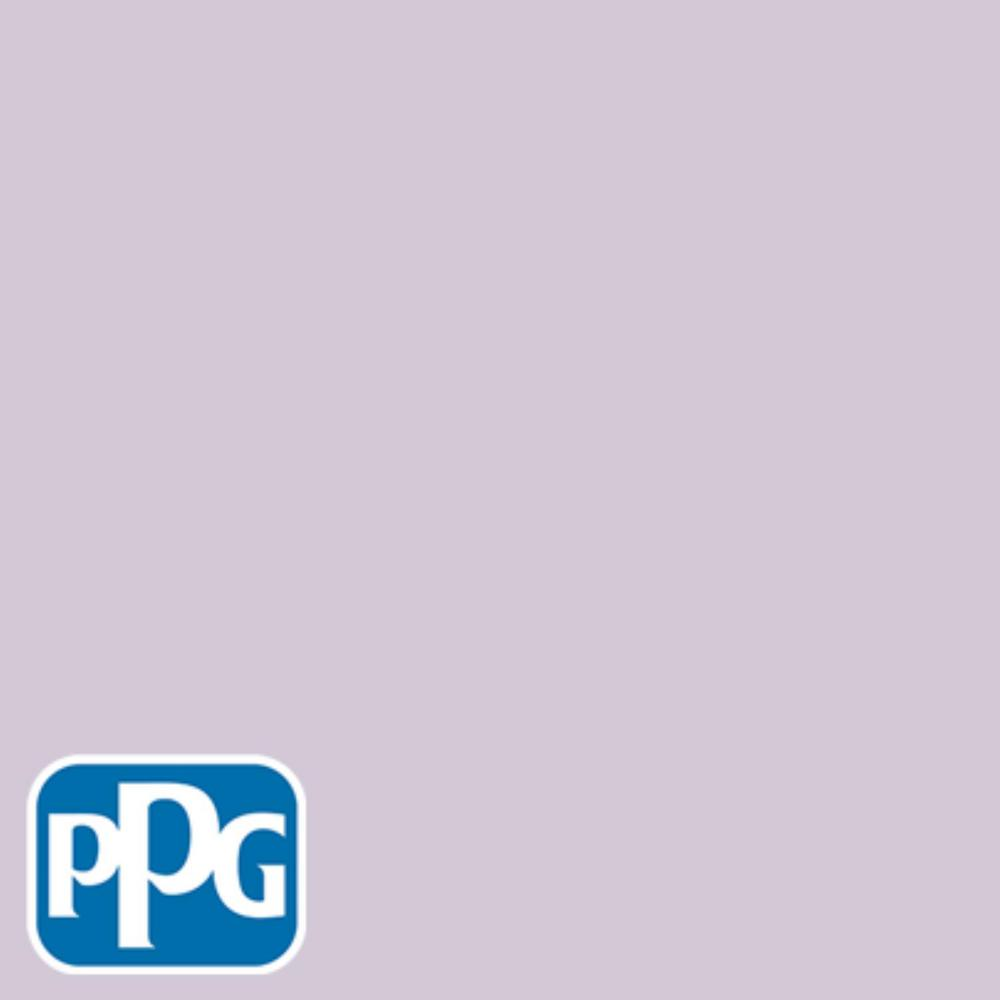 Purple Paint Colors >> Ppg Timeless 1 Gal Hdppgv58d Northern Light Purple Flat Interior One Coat Paint With Primer
