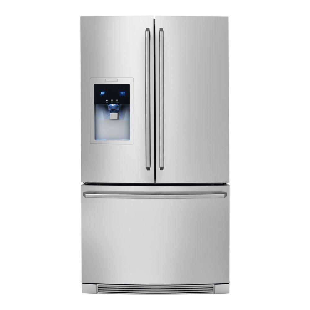 Electrolux Wave-Touch 21.74 cu. ft. French Door Refrigerator in Stainless Steel, Counter Depth