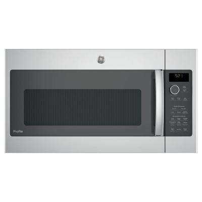 2.1 cu. ft. Over-the-Range Sensor Microwave Oven in Stainless Steel