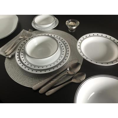 Classic 16-Piece City Block Dinnerware Set