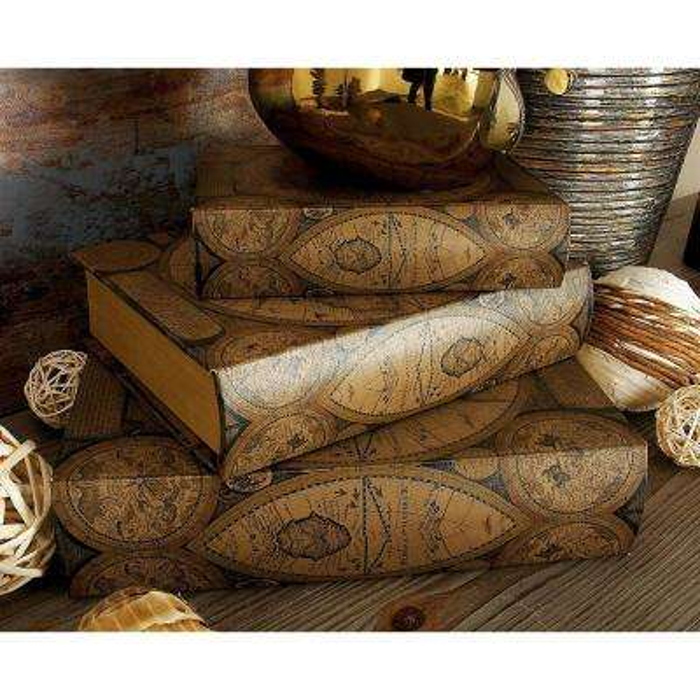 Beautifully Designed Wood Leather Book Box