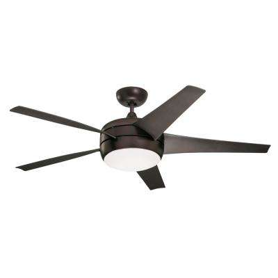 Midway Eco 54 in. Oil Rubbed Bronze Ceiling Fan