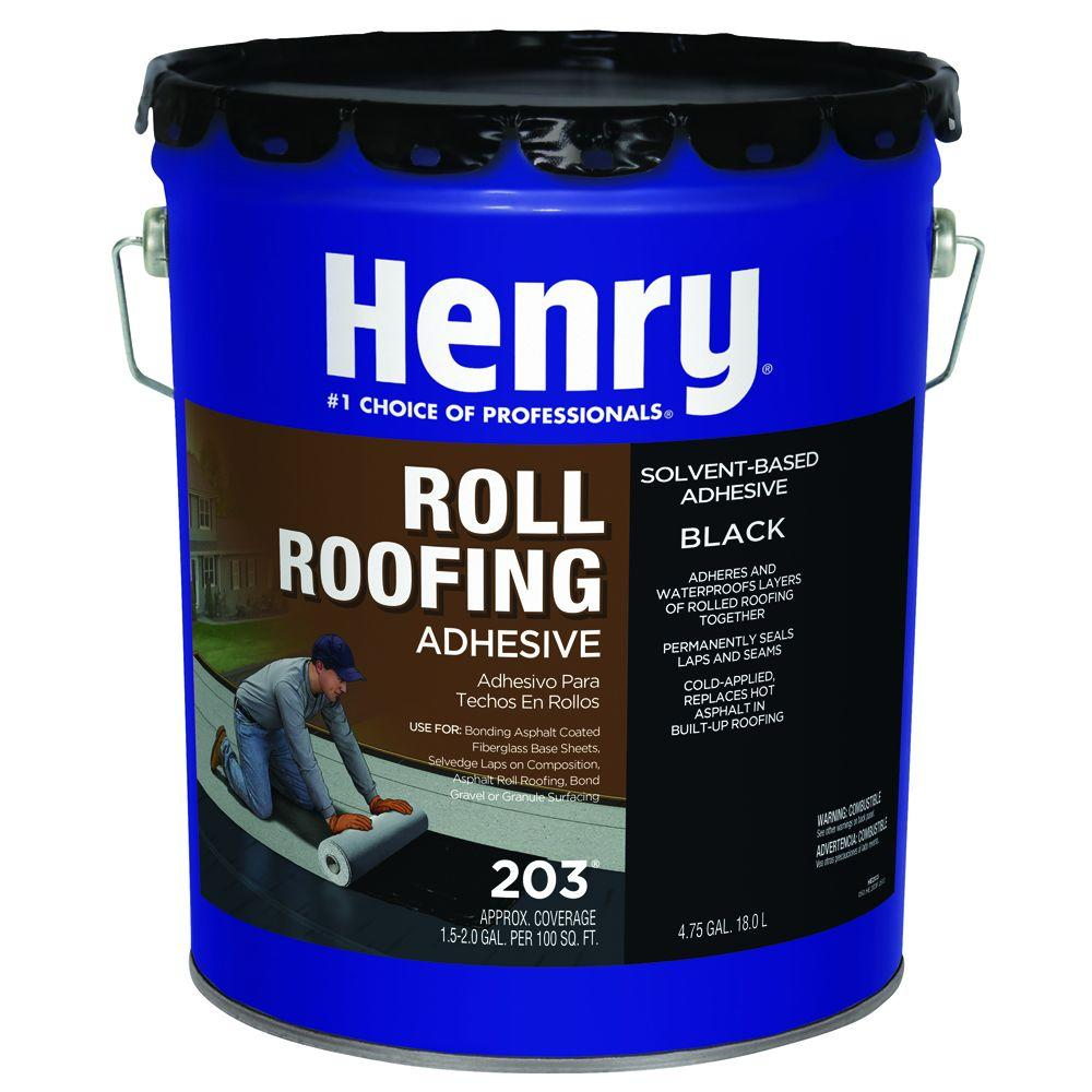 Henry 4 75 Gal  203 Cold Applied Roof Adhesive