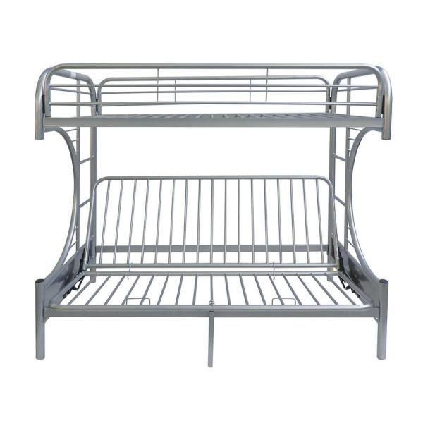 Eclipse Twin Over Silver Full Metal Kids Bunk Bed