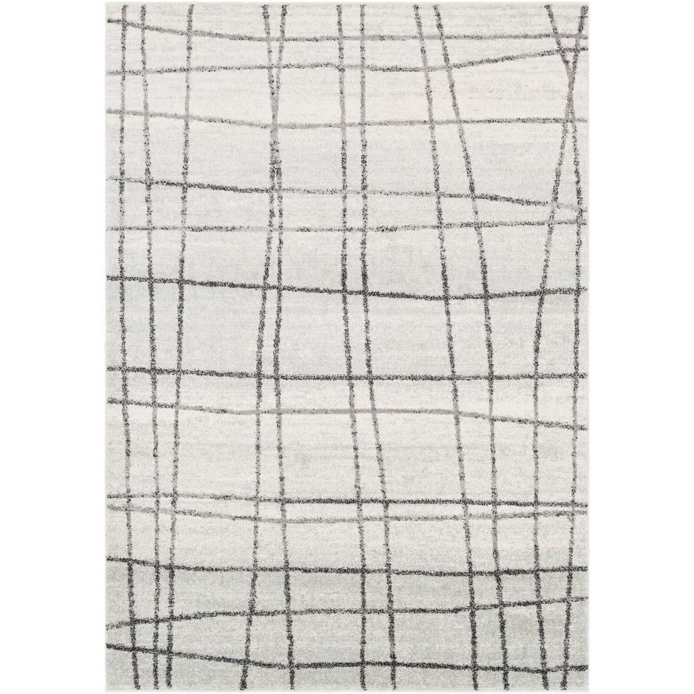 Artistic Weavers Laurine White/Gray 8 ft. x 10 ft. Area Rug