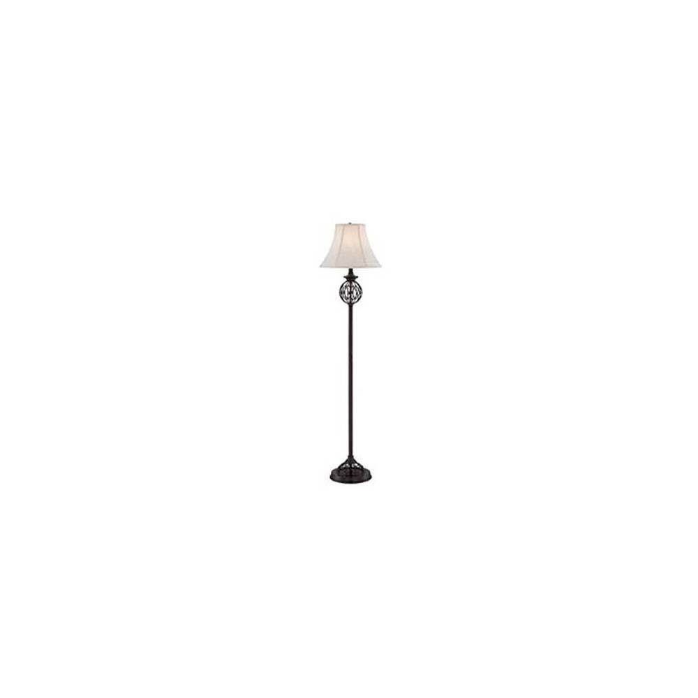62.5 in. Antique Bronze Floor Lamp
