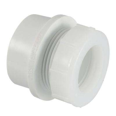 1-1/2 in. x 1-1/4 in. PVC DWV Trap Adapter