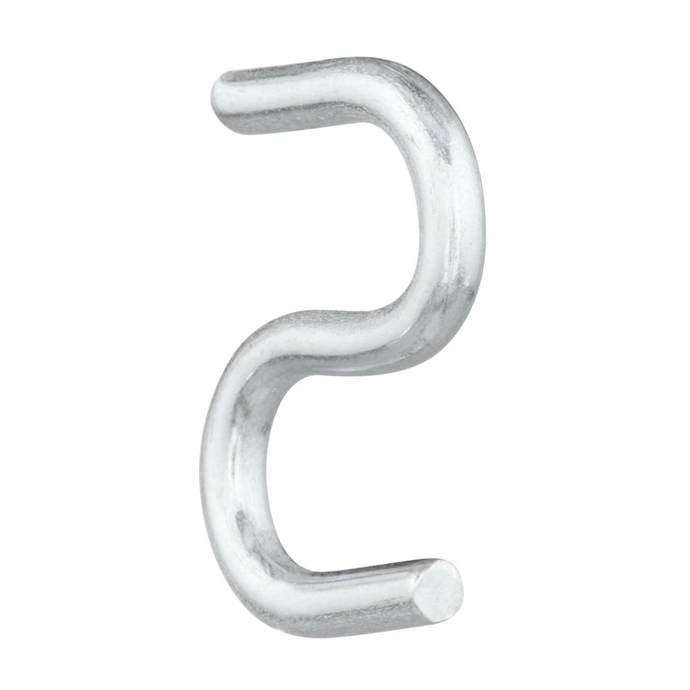 Hardware Essentials Zinc S-Hooks 0.250 x 2