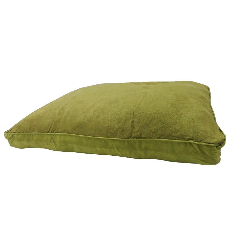 Oversized Leather Kiwi Pet Bed